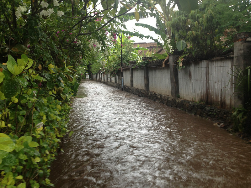Flash Flood Bali