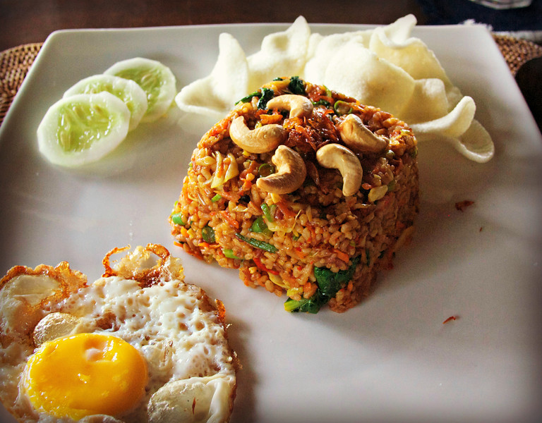 Nasi goreng recipe indonesian fried rice ccuart Image collections