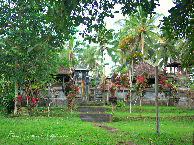 family compound in Bali